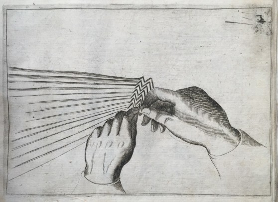 napkin folding illustration